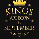 Kings are born in September by PCollection