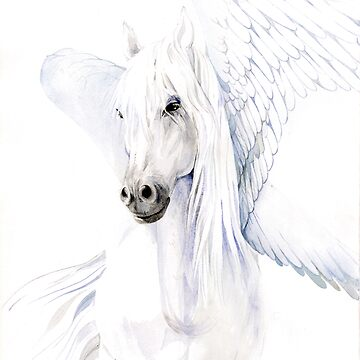 pegasus white female by armornavy
