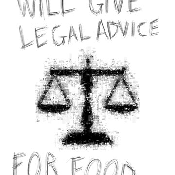 Law Student // Will give legal advice for food by DesignedByOli