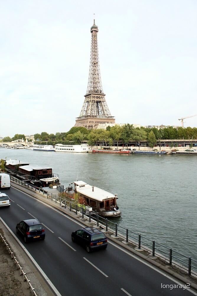 Paris View by longaray2