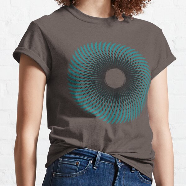 NAUTILUS (AQUA/BLACK) Camiseta clásica
