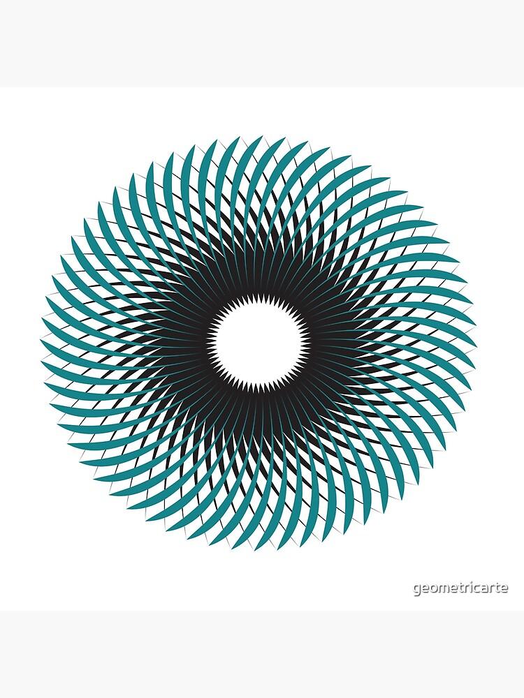 NAUTILUS (AQUA/BLACK) de geometricarte