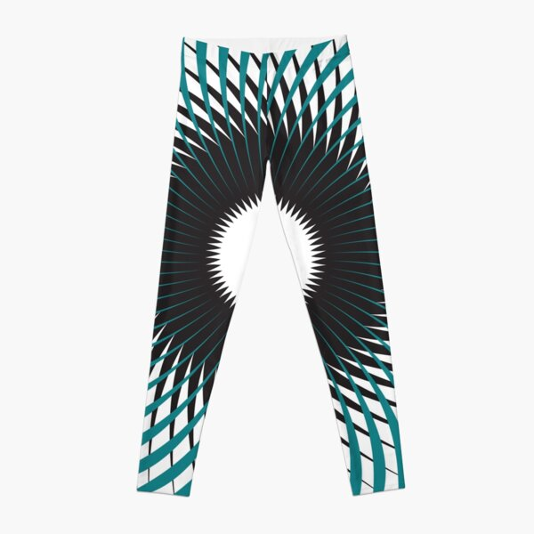 NAUTILUS (AQUA/BLACK) Leggings