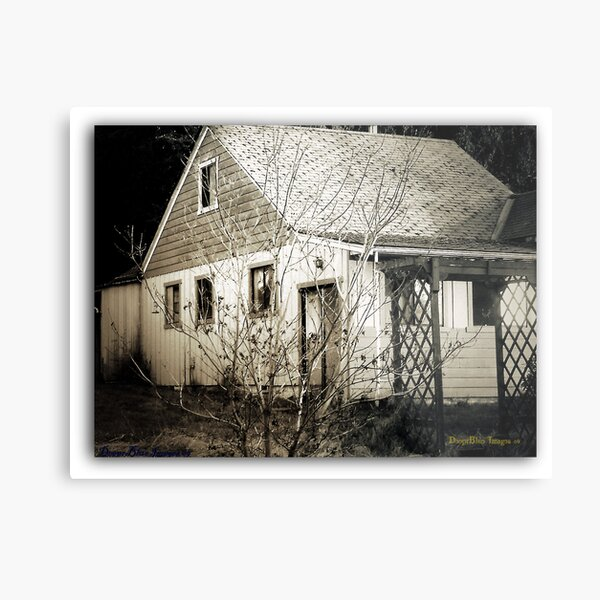 A Re-Visit to my Favorite Abandonment Metal Print
