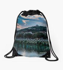 Hillside above Verona, Italy Drawstring Bag