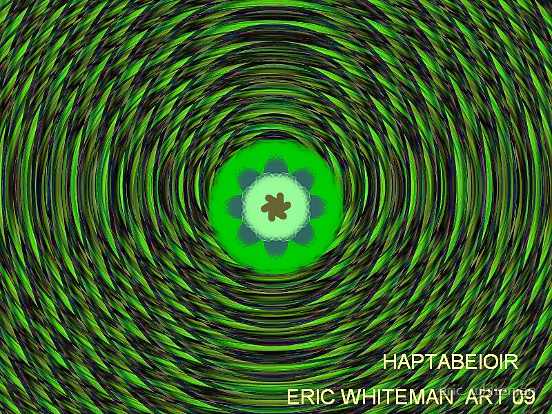 ( HARTABEIOIR )  ERIC WHITEMAN ART   by eric  whiteman