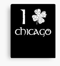 St. Patrick's Day City Pride - CHICAGO Canvas Print