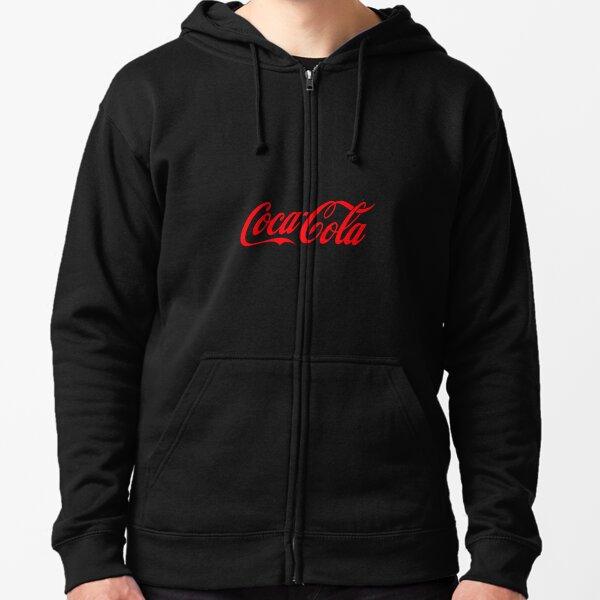 Coca Cola Sudadera con capucha y cremallera