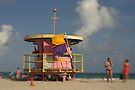 Miami Beach Lifeguard Hut by Kasia-D