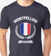 Montpellier France T-shirt Unisex T-Shirt