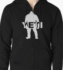 Bigfoot - Yeti Zipped Hoodie