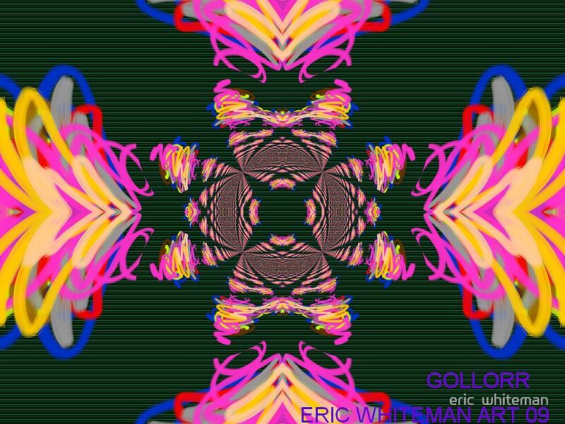 GOLLOAR ) ERIC WHITEMAN ART by eric  whiteman