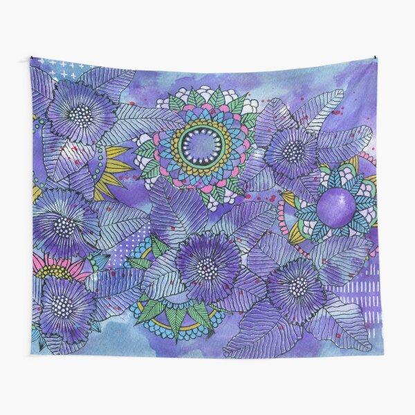 Ein Hauch von Violett Wandbehang