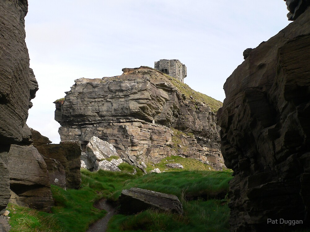 Cliffs of Moher--from below--Co. Clare.[Please View Larger] by Pat Duggan