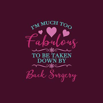 Back Surgery For Women by thepixelgarden