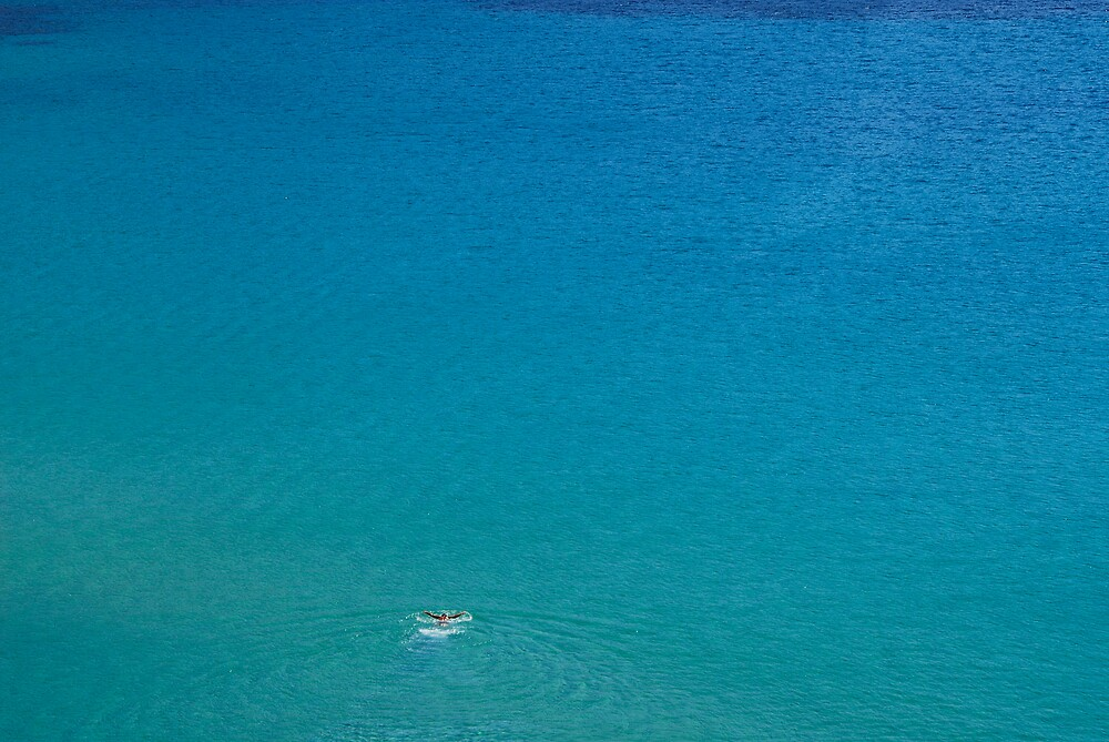 Turquoise waters by Euphemia
