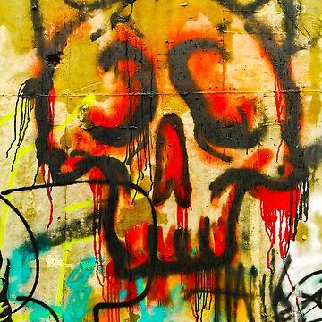 Grafitti Skull by hypnotzd