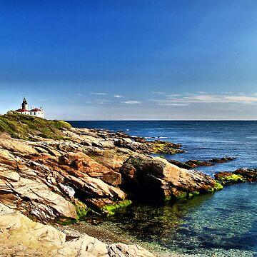 Beavertail Lighthouse, Jamestown, Rhode Island by Rhody53