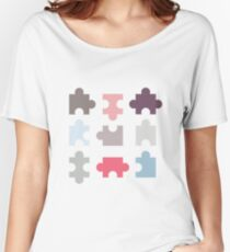 Puzzle Piece Women's Relaxed Fit T-Shirt