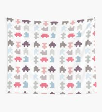 Puzzle Piece Wall Tapestry