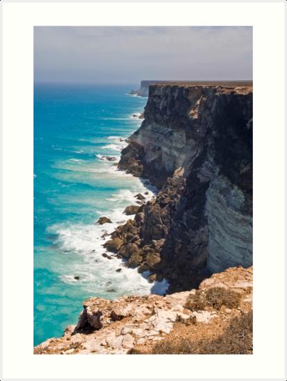 Great Australian Bight - Cliffs on the Nullabor - South Australia by Paul Gilbert