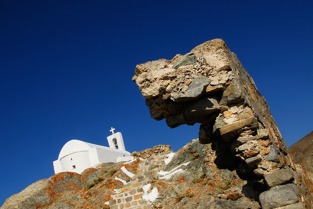 Church in Serifos, Cyclades by Euphemia