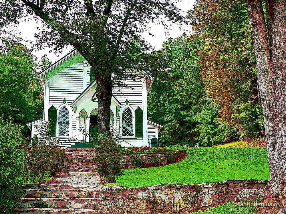 """Crescent Hill  Baptist Church 2"" by franticflagwave"