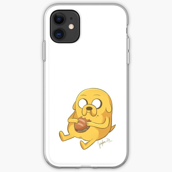 Jake Eating a Sandwich iPhone Soft Case