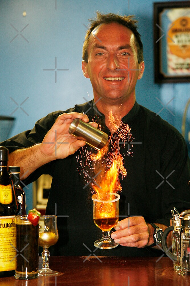 Flaming Great Drink by David Tate