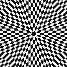 #black #white #checkered #chess #pattern #abstract #flag #floor #square #checker #board #chessboard #texture #check #design #race #illustration #squares #tile #racing #game  #checked #tiles #geometric by znamenski
