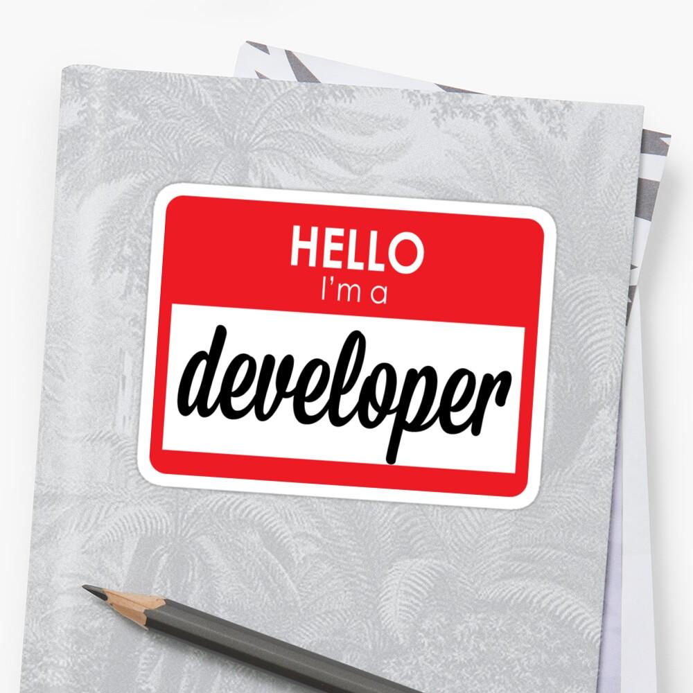 I'm a developer by Story of U's Internet Corner