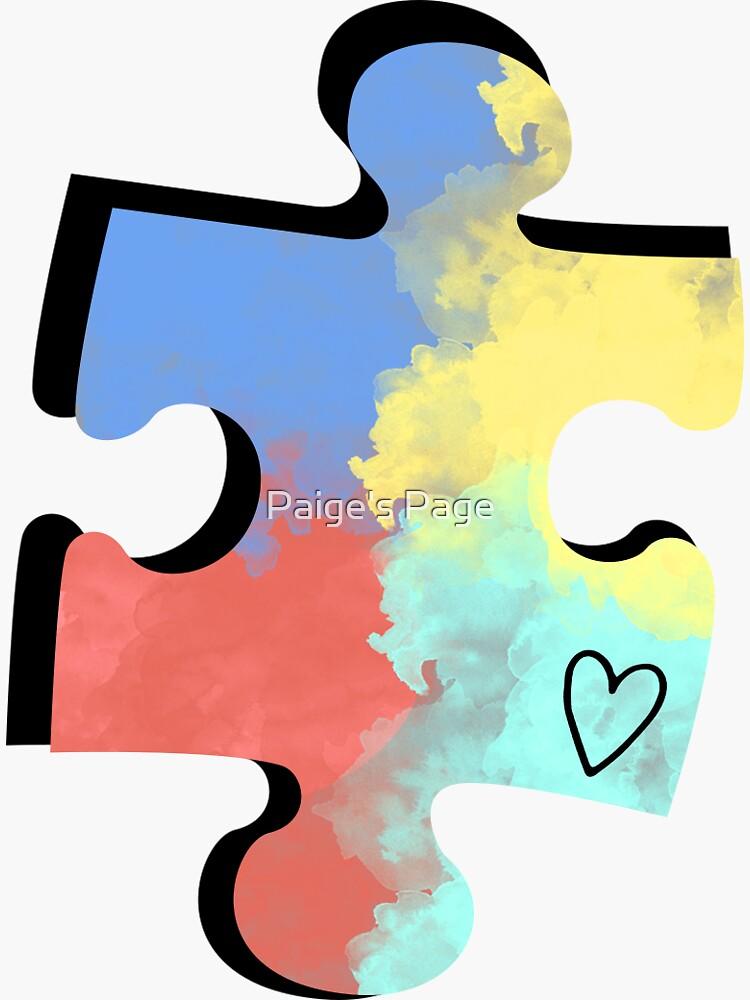 Autism Puzzle Piece by pgdistefano