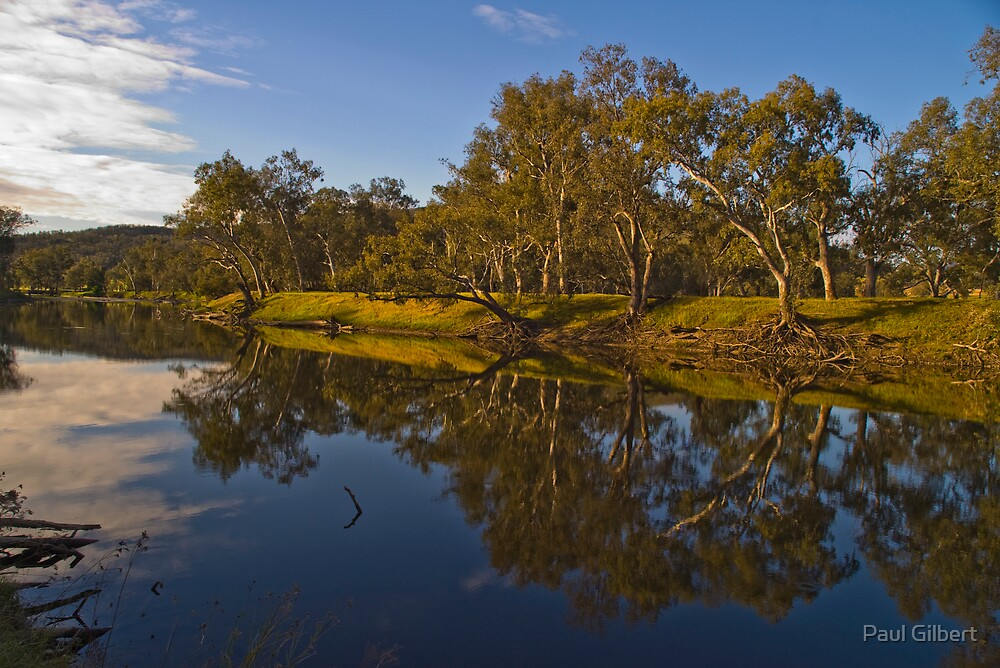 Murray River - Near Walwa - Victoria by Paul Gilbert