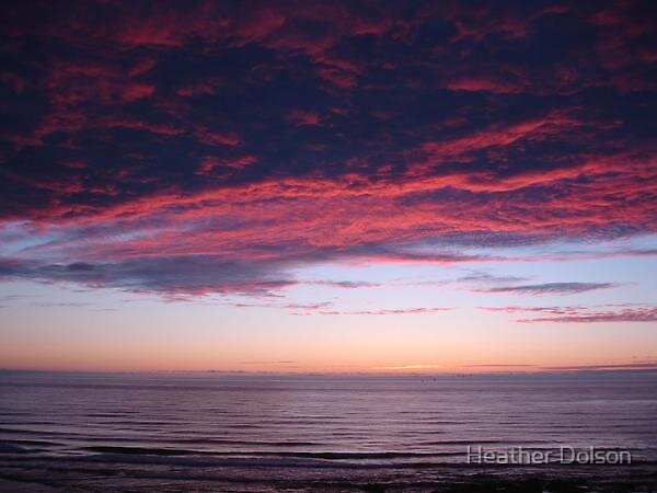 Sunset Pink  by Heather Dolson