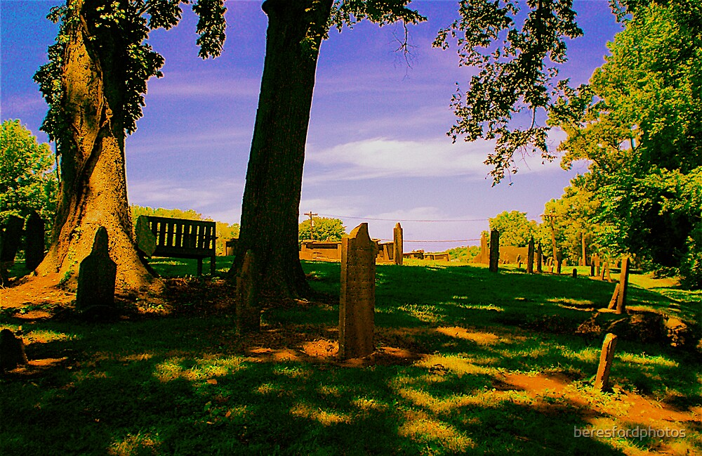 Headstones on a Hill by beresfordphotos