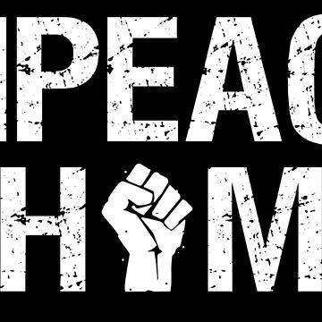Impeach Him (with raised fist) Anti President by elvindantes