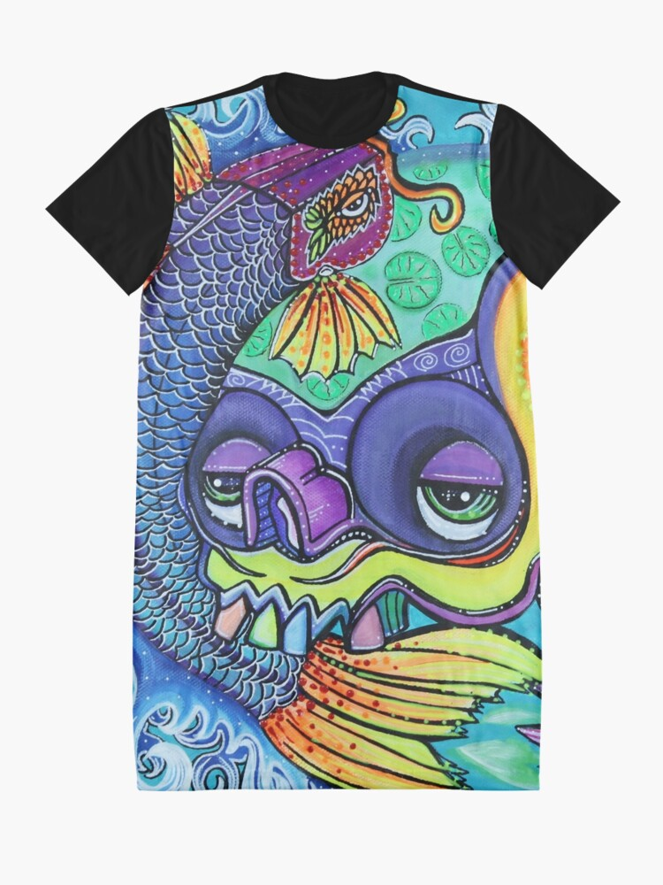 Alternative Ansicht von Drachentor T-Shirt Kleid