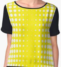 #pattern #abstract #texture #yellow #design #honeycomb #orange #wallpaper #honey #color #backdrop #illustration #bee #grid #backgrounds #textured #dot #hexagon #gold #art #metal #macro #seamless  Chiffon Top
