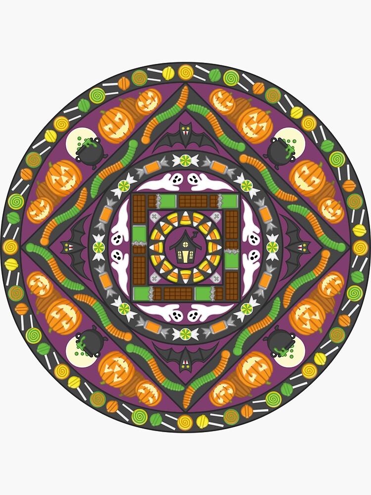 Tricks and Treats Mandala by ValerieDesigns