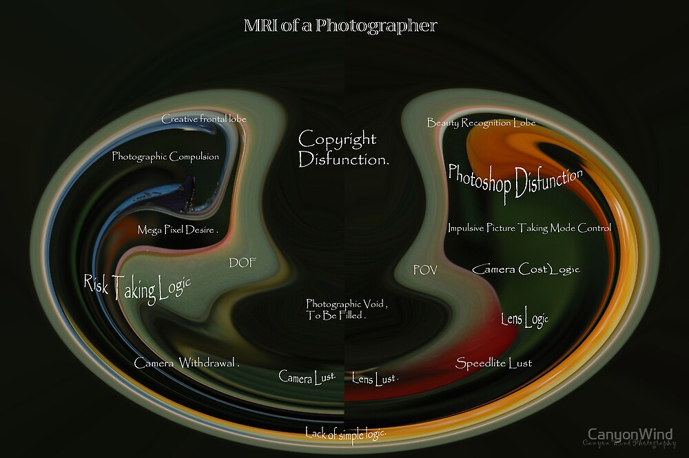 MRI of a Photographer . by CanyonWind