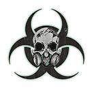 Biohazard Skull by GroveHollow