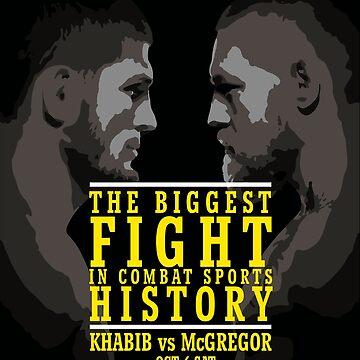 Khabib vs McGregor by bibinik