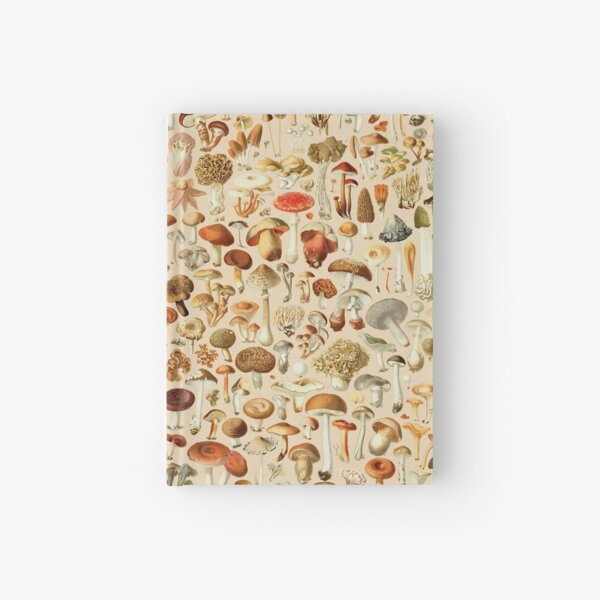 Vintage Mushroom Designs Collection Hardcover Journal