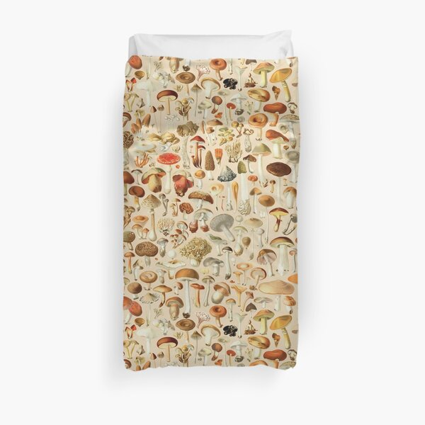Vintage Mushroom Designs Collection Duvet Cover