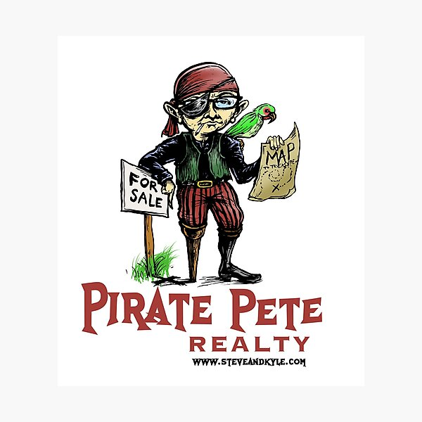 Pirate Pete Realty Photographic Print