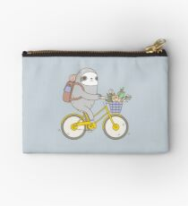 Biking Sloth  Studio Pouch