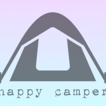 Happy Camper Ombre Tent by Vintage-Rose