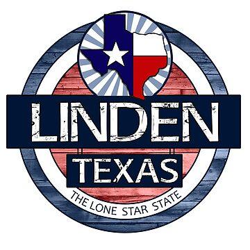 Linden Texas rustic wood circle by artisticattitud