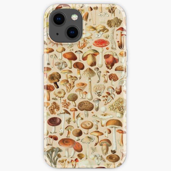 Vintage Mushroom Designs Collection iPhone Soft Case