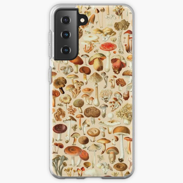 Vintage Mushroom Designs Sammlung Samsung Galaxy Flexible Hülle